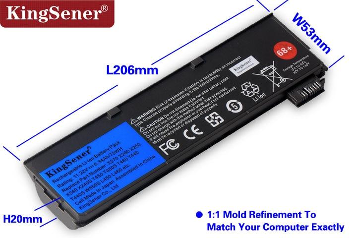 Korea Cell Original New Laptop Battery for Lenovo Thinkpad X240