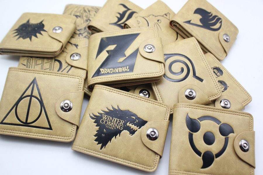 The Legend of Zelda DEATH NOTE Suicide Squad TOTORO Short Wallet Purse Bag  Holder Layers Button Zipper Wallets 30 style suicide squad vol 3 burning down the house rebirth