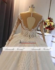 Image 4 - 2020 ウェディングドレス高級フルビーズ人魚のウェディングドレスで列車