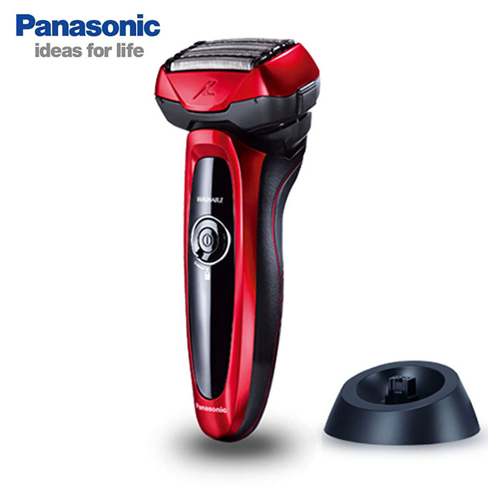 <font><b>Panasonic</b></font> Men's Electric <font><b>Shaver</b></font> ES-LV64 Rechargeable Smart 5 Floating Cutter Head Support Body Washable Low <font><b>Battery</b></font> Display image