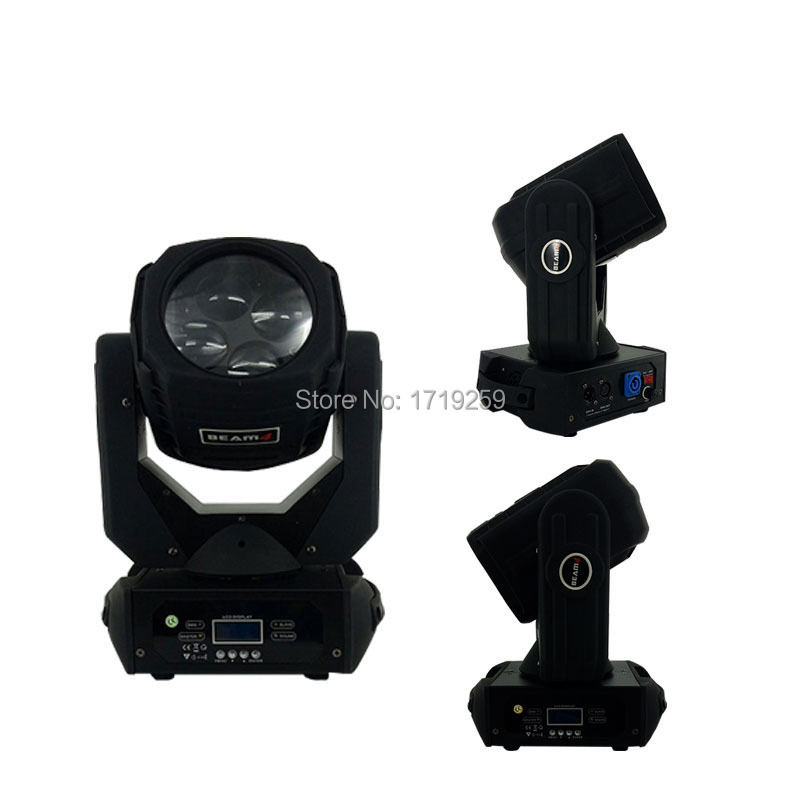 2pcs/lot LED 4x25W Super Beam Moving Head LED Beam Light perfect Effect Light for DJ Disco Party Lighting Fast Shipping niugul dmx stage light mini 10w led spot moving head light led patterns lamp dj disco lighting 10w led gobo lights chandelier