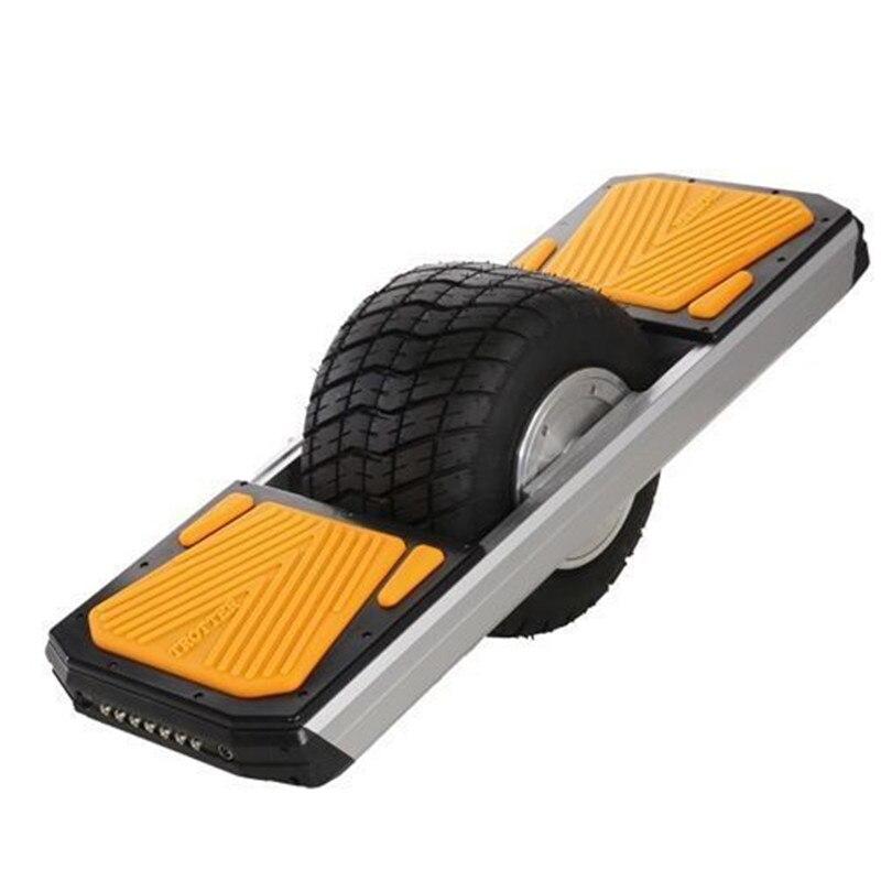 IP54 résistant à l'eau/poussière une roue planche à roulettes électrique tout-terrain longboard électrique
