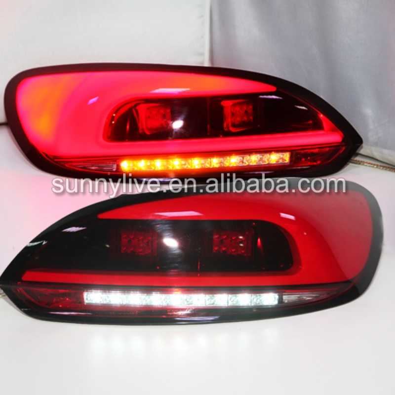 For VW 2009-2014 Scirocco  LED Tail Light Rear Lamp JX
