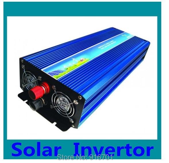цена на 3000W SOLAR SYSTEM INVERTER DC12V 24V 48V TO AC 220V 230vPURE SINE WAVE OUTPUT Wind/Car/POWER 50A SOLAR CONTROLLER