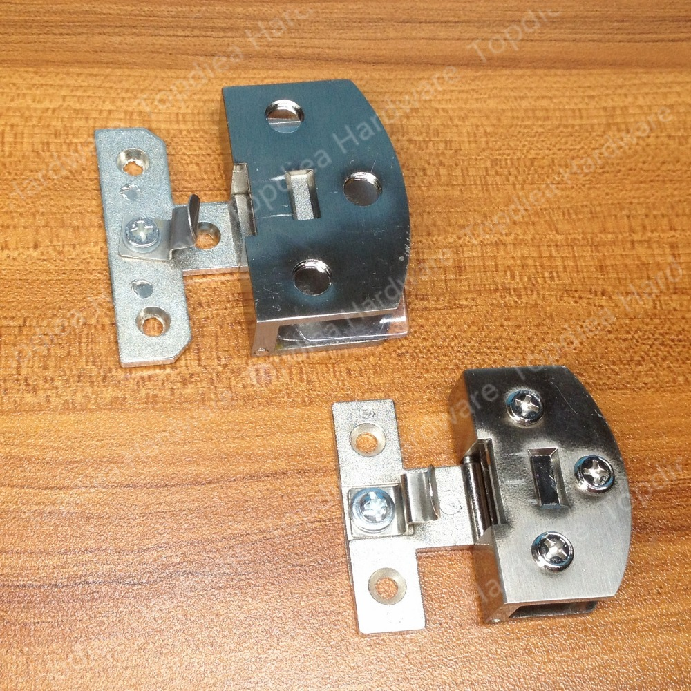 Stainless Steel Glass Cabinet Hinge Can Clamp 5 8mm 8 10mm Cabinet