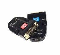 DVI волоконно оптический удлинитель DVI/HDMI цифровой мини оптический трансивер одного волокна core LC порт 1080 P несжатого 4 К