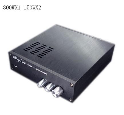 Finished TAS5630 300W+150Wx2 Hifi 2.1 Audio Stereo Digital Power Amplifier Board Subwoofer Class D Amplifier