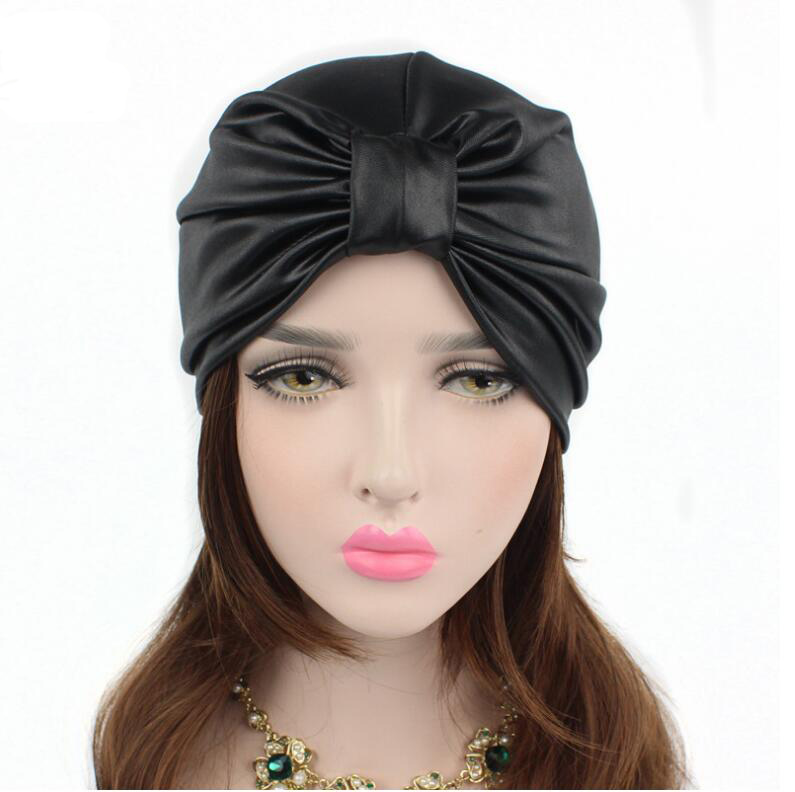2017 new women hats leather turban caps head wrap dome caps europe style india hats women beanies skullies for fall and spring pastoralism and agriculture pennar basin india