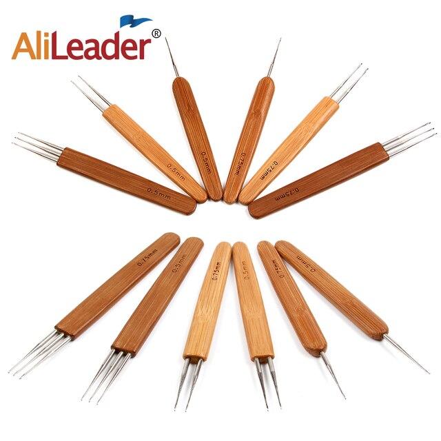 Aliexpress Buy 3pcs Natural Wood Handle Hair Weaving