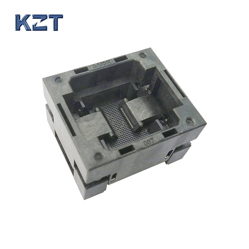 BGA88 OPEN TOP burn in socket pitch 1.0mm IC size 14*18mm BGA88(14*18)-1.0-TP01NT BGA88 VFBGA88 burn in programmer socket bga80 open top burn in socket pitch 0 8mm ic size 7 9mm bga80 7 9 0 8 tp01nt bga80 vfbga80 burn in programmer socket
