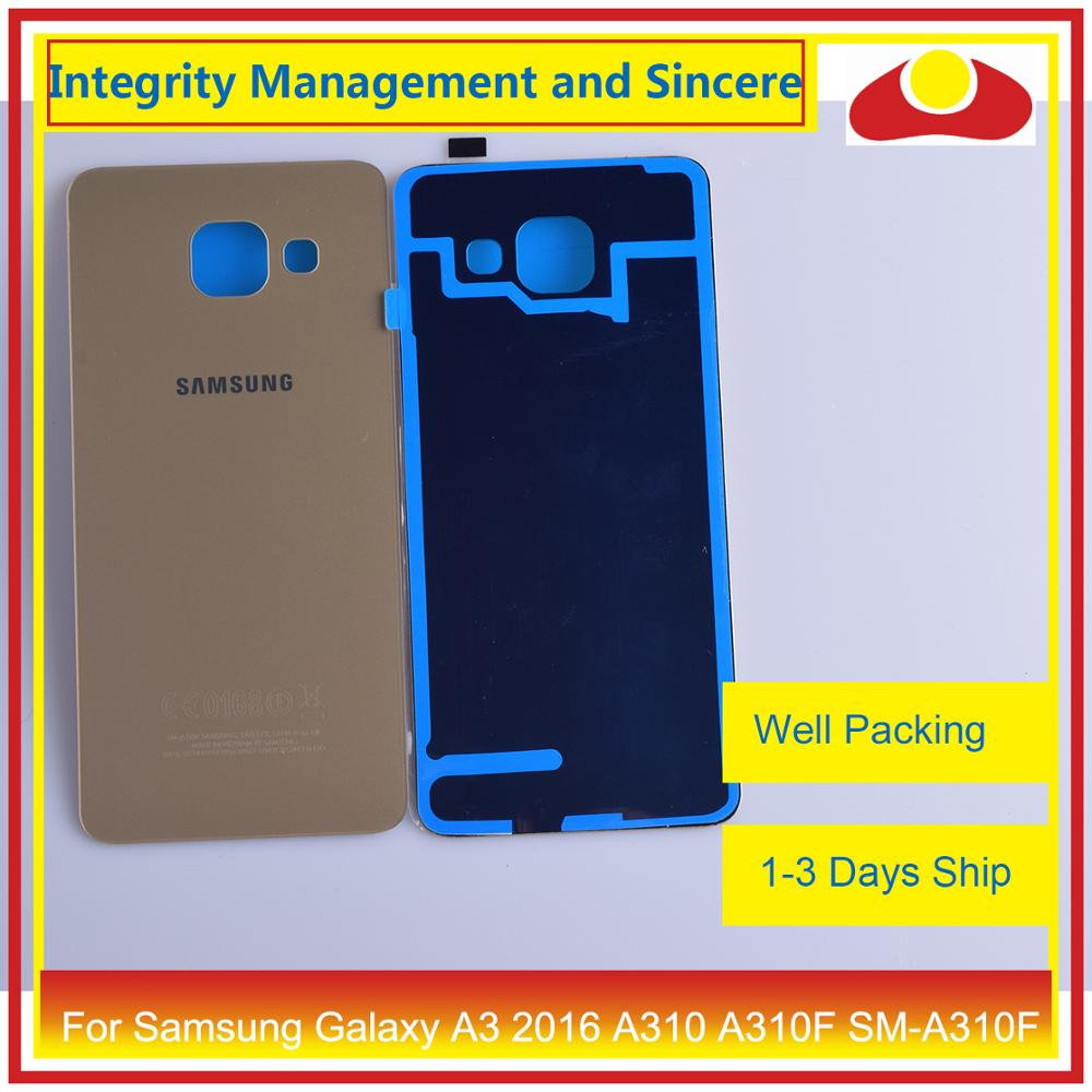 Image 5 - 50Pcs/lot For Samsung Galaxy A3 2016 A310 A310F SM A310F A310H Housing Battery Door Rear Back Cover Case Chassis Shell-in Mobile Phone Housings & Frames from Cellphones & Telecommunications