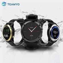 Teamyo H1 Смарт-часы человек Фитнес трекер Часы измерять кровяное давление смарт-браслет Водонепроницаемый GPS SIM для Android IOS SmartWatch