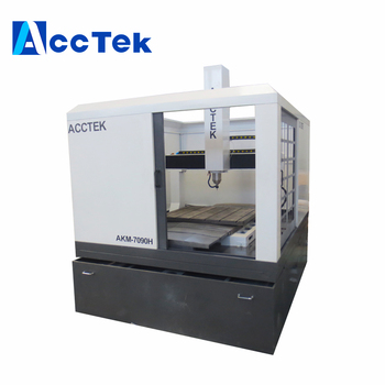 China AccTek fully closed design CNC Machining Center Precision Metal Mould Maker CNC Milling Machine 6060 7090 popular cnc lathe machining center indexable square shoulder milling tools holder with high precision pe05 17b32 100 08