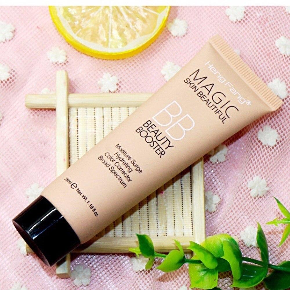 1Pcs Natural BB Cream Perfect Face Color Corrector Facial Brightening Foundation Concealer Cream Waterproof Contour Makeup TSLM1 2