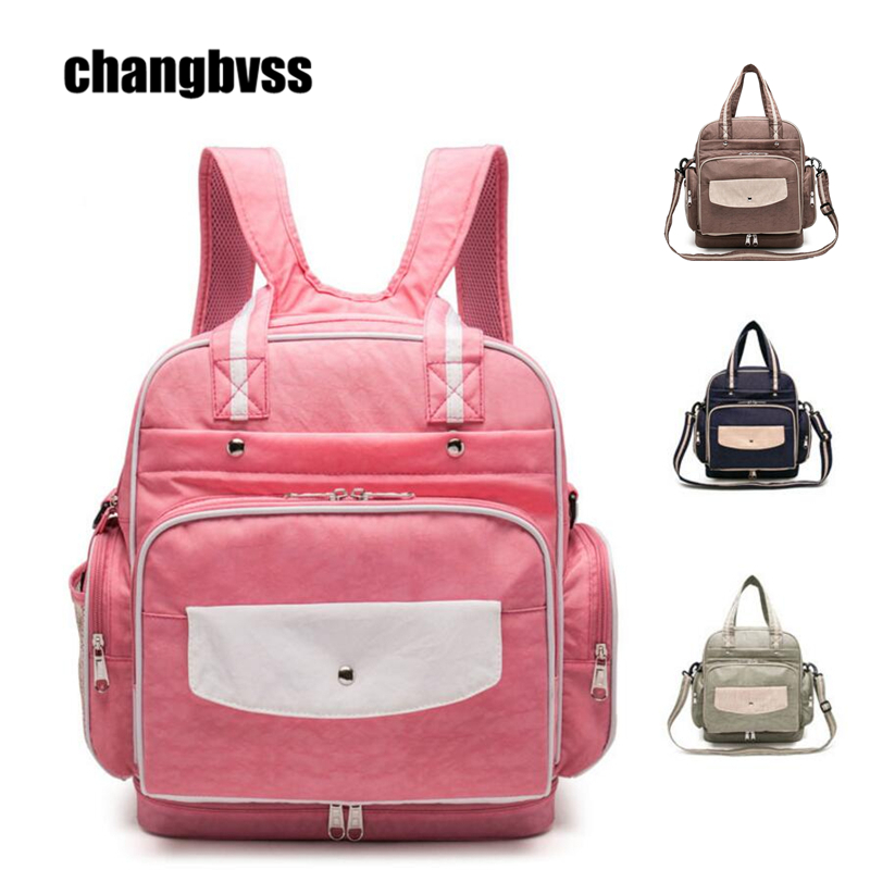 Messenger/Backpack/Handbag/Tote/Hobos Bag for Mother Baby Nappy Diaper Maternity Mommy Bag Waterproof Baby Stroller Bag