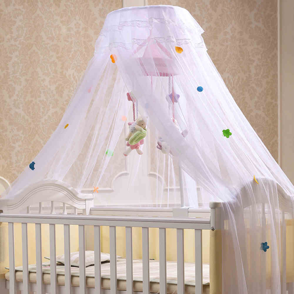 LuxuryBaby toddler infant children Crib Mosquito Net  summer baby cot bedding net door type with frame baby bed curtain kamimi children room decoration crib netting baby tent cotton hung dome baby mosquito net photography props