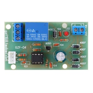 Image 2 - 12V Electric Liquid Level Controller Sensor Module Water Level Detection Sensor Board Fuel Flow Sensor Water Flow Switch