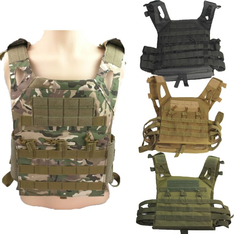 Tactical JPC Vests Paintball Combat Vest Molle Plate Airsoft Armor Carrier Vest