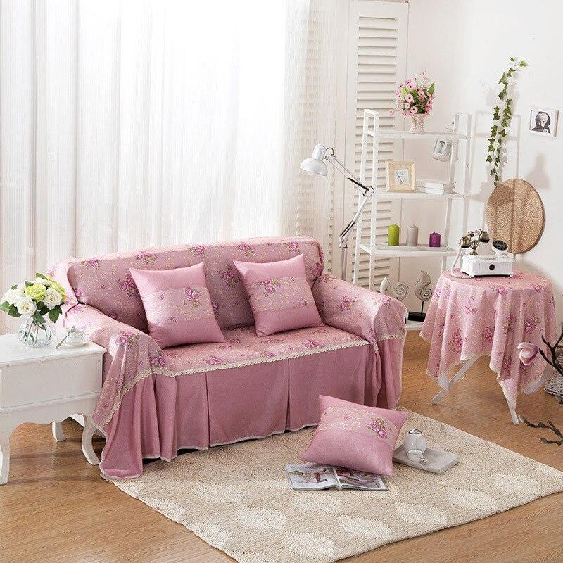 Aliexpress.com : Buy Rose Pastoral Fresh Style Fabric Sofa
