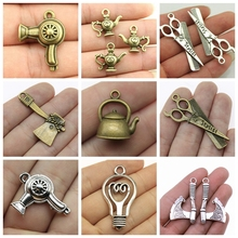 Mix Jewelry Tools Hammer Charms For Making Diy Craft Supplies Handmade 3D Pendant