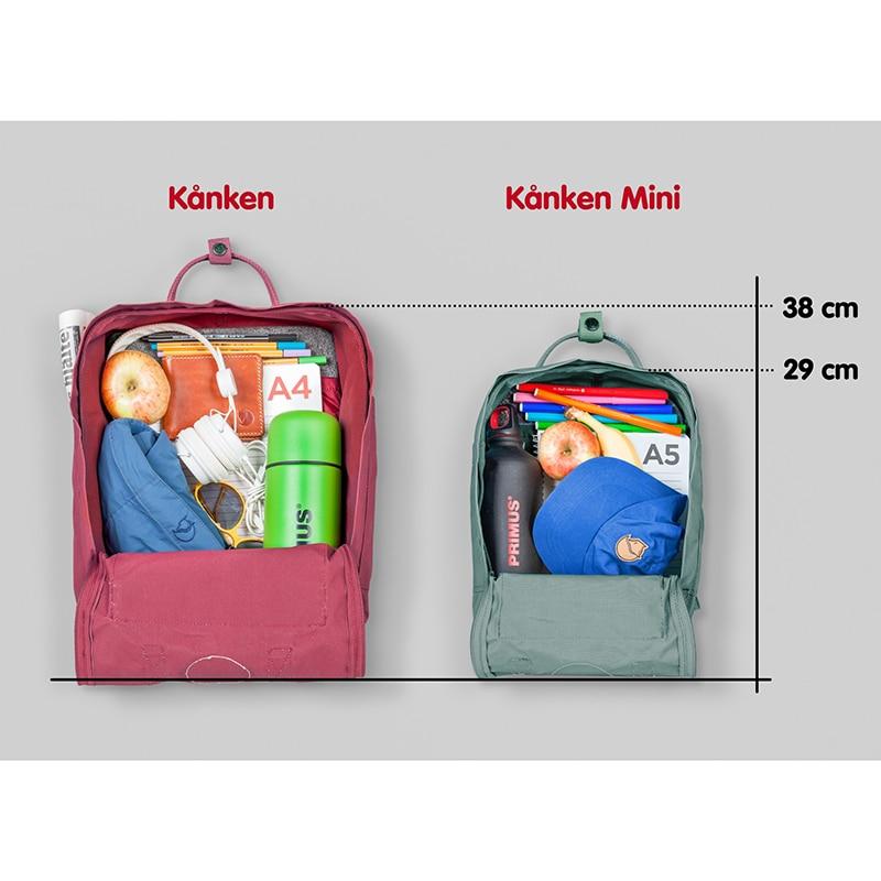 2018 ins burst red section kanken backpack bag Classic shoulder canvas waterproof couple fun fox bag leisure travel bag backpack