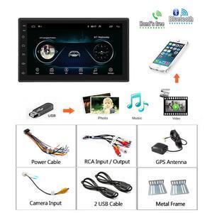 """Image 5 - Podofo 2 din автомобильное радио GPS Android Авторадио WiFi USB аудио 2din 7 """"сенсорный экран универсальный MP5 мультимедийные плееры Bluetooth FM"""