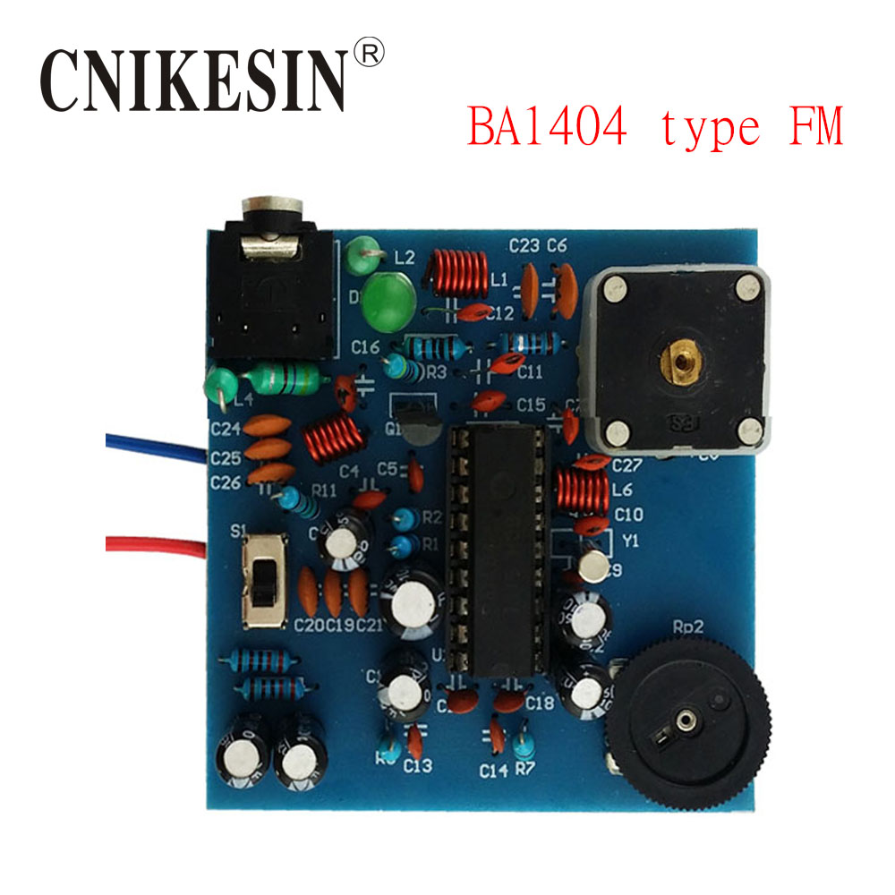 Cnikesin Diy Kit Bp Ba1404 Type Fm Transmitter Board Stereo Usb Circuit Electronic In Integrated Circuits From Components Supplies