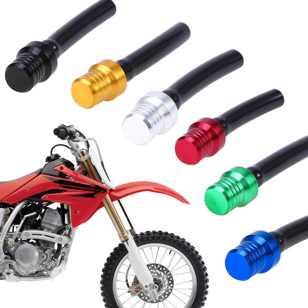Motorcycle Gas Fuel Cap Valve Vent Breather Hose Tube Fit Bike Tank ATV PIT Dirt