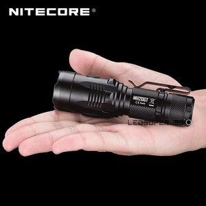 Image 2 - מפעל מחיר Nitecore MH20GT בגודל כף יד נייד זרקור LED USB נטענת 18650 פנס 1000 Lumens