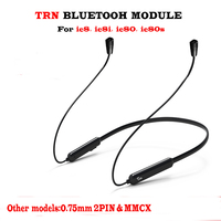 TRN BT3 Wireless Bluetooth APT X Cable 2PIN Interface 2PIN Connectors Use for V60 V80 HQ5 HQ6 SE535 SE846 ie80 ie80s ie8i