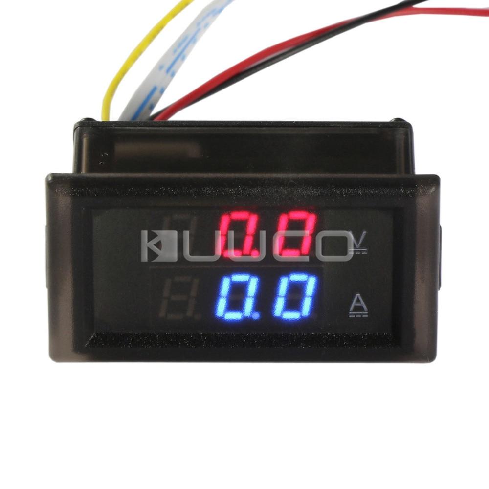 DC 300V//0-100A Ammeter Voltmeter Digital tester Meter Voltage DC 12V 24V CAR