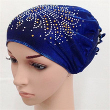 12PCS Muslim Women Hats Islamic Arab Amira Caps Ramadan Headwear Underscarf