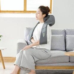 Xiaomi Mijia LF 3D masażer ugniatający na szyję w kształcie litery U masaż elektryczny regulowana siła TC z podgrzewaną wodą wyrabiania masaż 5