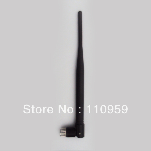 2.4G high frequency the rubber antenna router antenna 2.4G module 5DB SMA antenna can be bent head