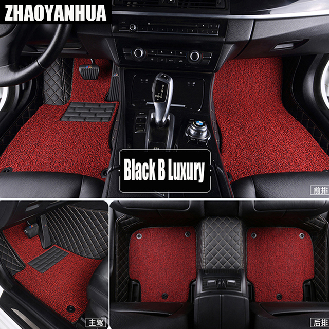 Special Made Car Floor Mats For Audi A6 C5 C6 C7 A4 B6 B7 B8 Allroad
