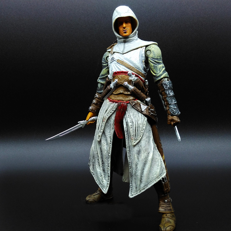 SAINTGI Assassins Creed 4 Black Flag Ezio Edward Washington James Kenway Anime Game Figurine PVC Action Figure Toy 15cm opp bag