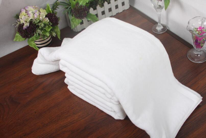freeshipping new 10pcs Bath Towel White Cotton 33*73cm Hotel Towel Washcloths Hand Towels wholesale
