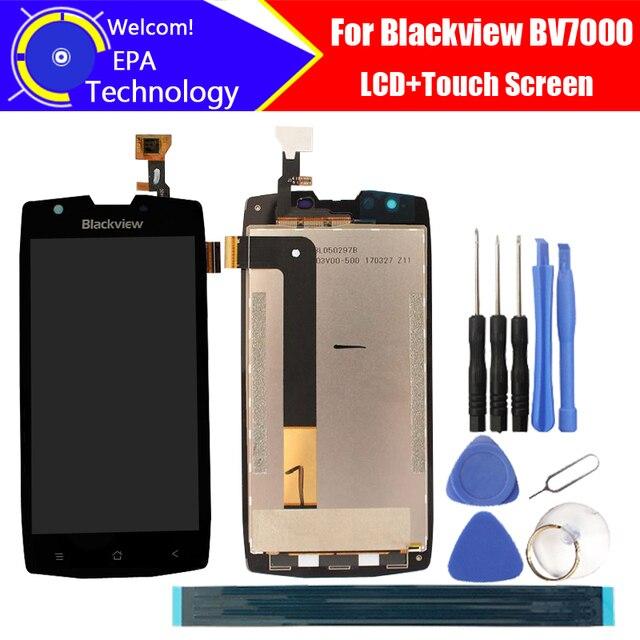 5.0 inch Blackview BV7000 Lcd scherm + Touch Screen 100% Originele Nieuwe Getest Digitizer Glass Panel Vervanging Voor BV7000 + geschenken