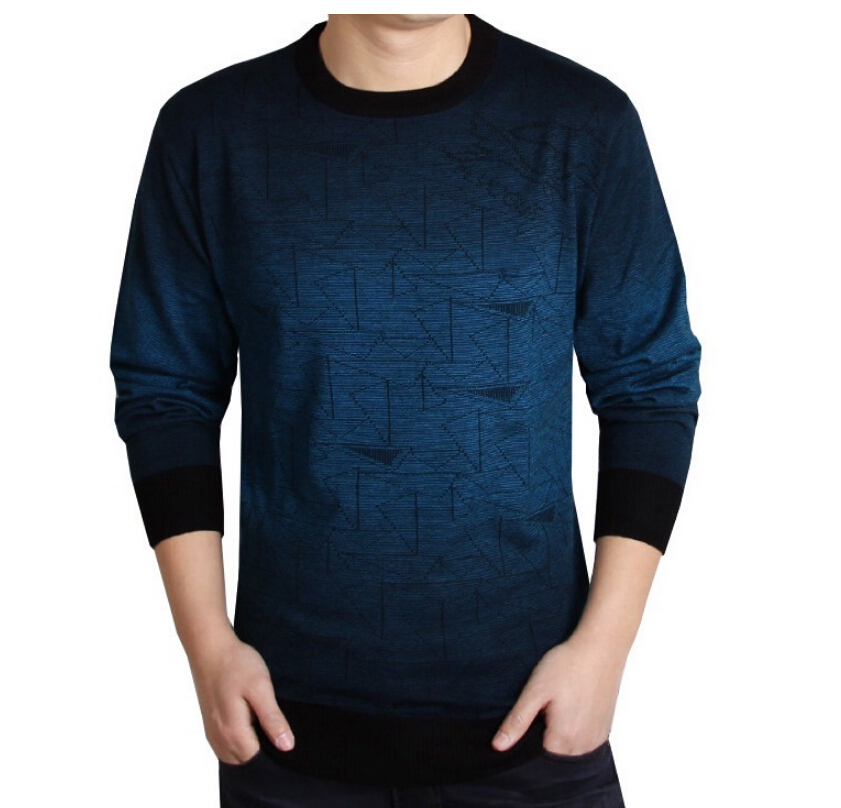 The new men t shirt spring autumn thin long sleeved mens for Thin long sleeve t shirts
