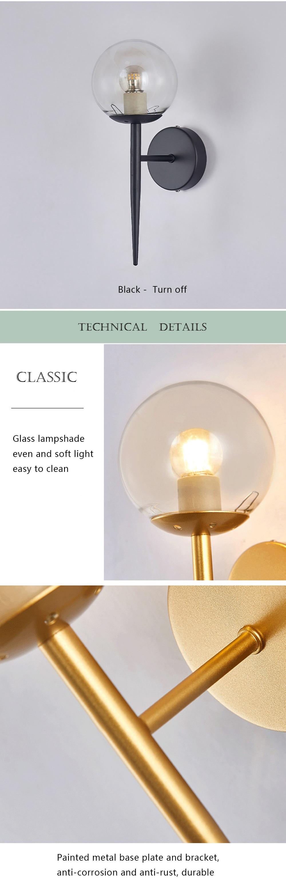 Decorative Bedside Wall Lamp Shade Free Shipping