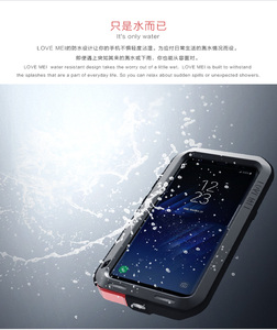 Image 2 - New 2017 S8 S8 Plus Case LOVE MEI Life Waterproof Metal 3 Proof Phone Case for SAMSUNG Galaxy S8 Plus S8+ Full protection Covers