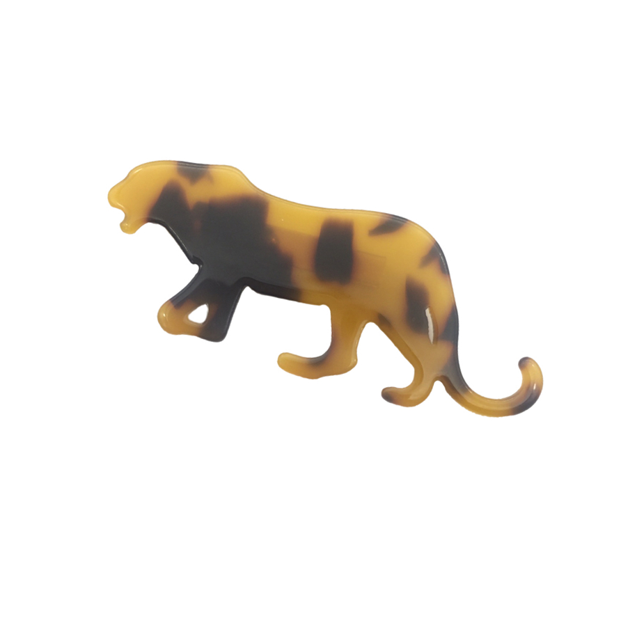 Image 2 - New Animal African leopard brooch hijab pins lapel pin broche christmas gifts brooches for women jewellery bisuteria broches-in Brooches from Jewelry & Accessories
