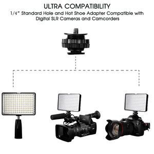 Image 2 - capsaver TL 160S Studio Light LED Video Light 160 leds Camera Light Hand held Photo Lamp Panel for Canon Nikon Youtube Shoot