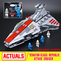 Lepin 05042 Star War Series The Republic Fighting Cruiser Set Building Blocks Bricks  Educational Toys 8039