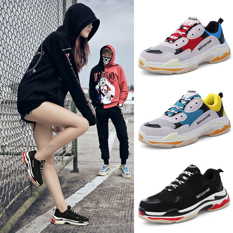 2018 Running shoes women sneakers NEW Lightweight Female Outdoor Athletic air leather Lovers walking sport tennis Trainers shoes
