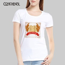 Happy Shavuot Holiday oversize customize print tshirt woman large size solid color top casual couple tee o-neck regular