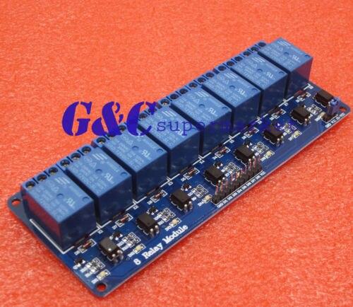 12 В 8-Канальный Релейный Модуль с оптопары ПИК ARM DSP AVR