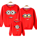 Minions cotton sweater  Autumn And Winter  Family Matching Outfits mother son daughter father clothes Color optional