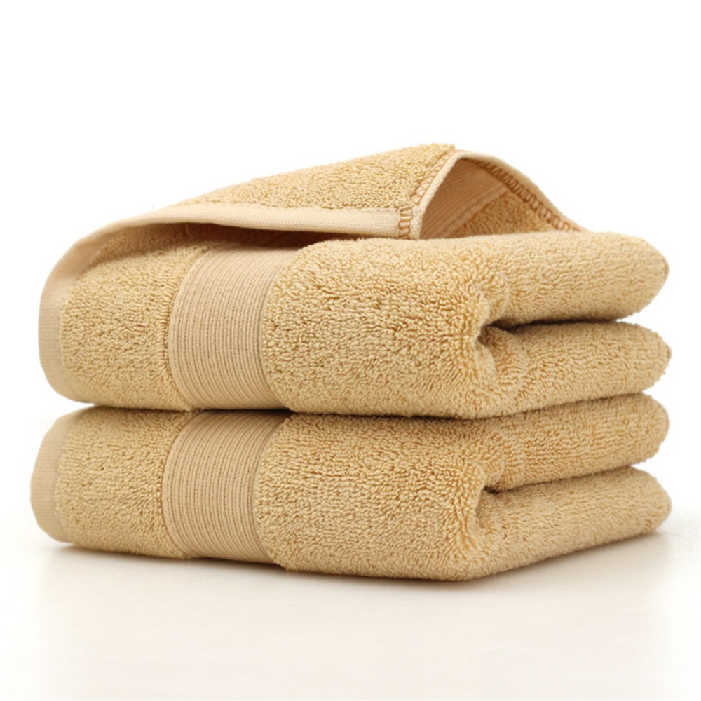 Image 2 - Ultra Soft 2 Pack Bath Towels 70*140cm 100% Pure Ringspun Cotton  Ideal for everyday use Easy care machine wash-in Bath Towels from Home & Garden