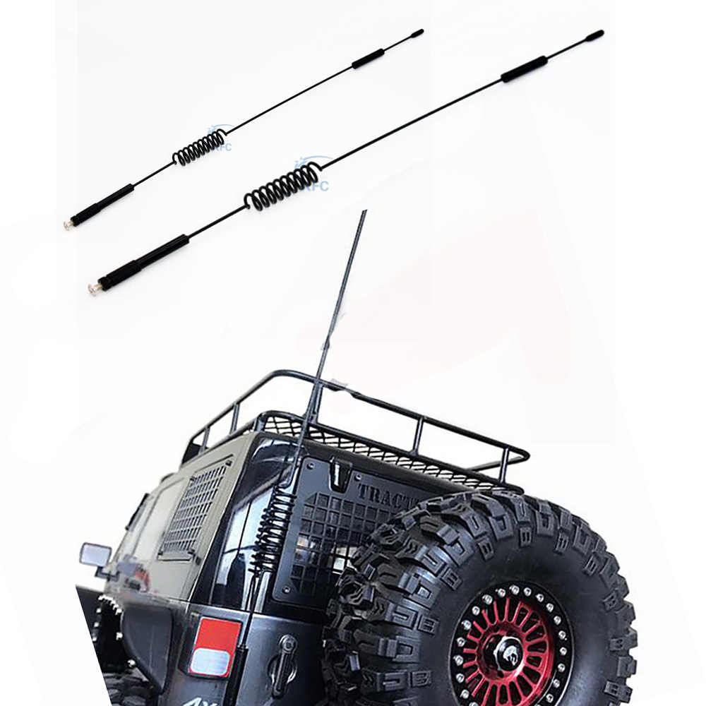 Metal RC Antenna 160mm/290mm For 1/10 RC Crawler Car Axial SCX10 90046 Traxxas D90 D110 RC4WD TRX-4 TRX4